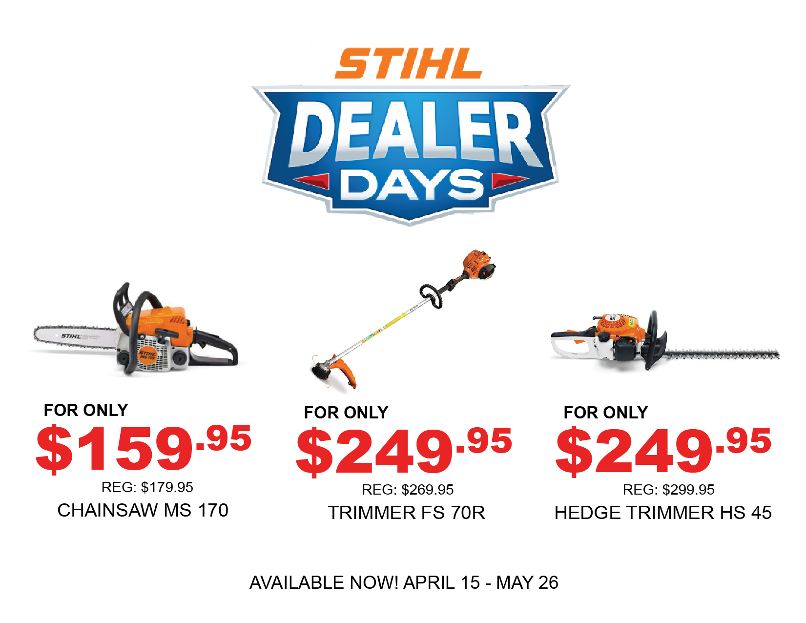 Stihl Trimmers : Lawn Mowers Parts and Service, YOUR POWER